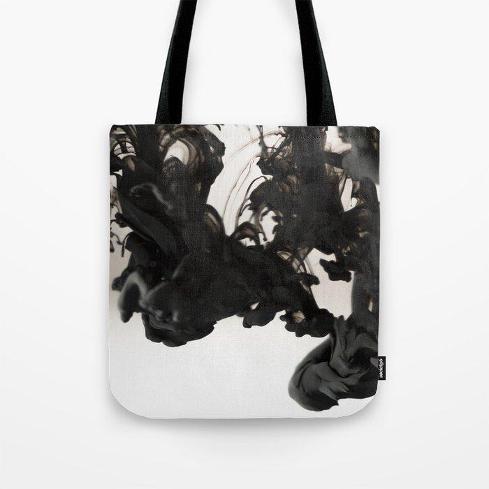 Ink #abstract #black Tote Bag