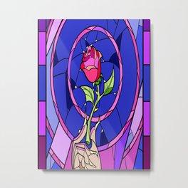 Beauty Rose Metal Print
