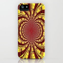 KALEIDOSCOPIQUE iPhone Case