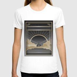 Art deco design V T-shirt