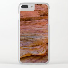 Colorful Sandstone, Valley of Fire - IIa Clear iPhone Case