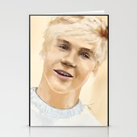 niall Stationery Cards featuring Niall by Sayrise