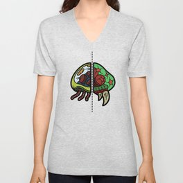 Old & New Metroid Unisex V-Neck
