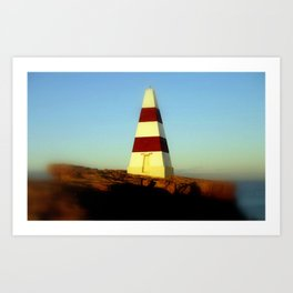 Obelisk on Cape Dombey Art Print