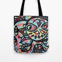 cheshire Tote Bags featuring Cheshire by Lisa Brown Gallery