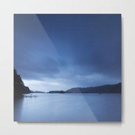 Sky over Lake Windermere. Low Millerground, Windermere, Lake District, UK in Autumn Metal Print
