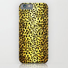 Leopard Print Animal Wallpaper iPhone Case