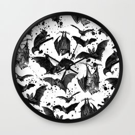 BATS II Wall Clock