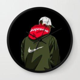 Supreme X Nikee Wall Clock