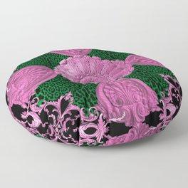 Preppy Baroque Floor Pillow