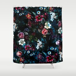 NIGHT GARDEN XI Shower Curtain