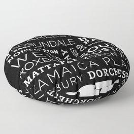 City of Neighborhoods - I Floor Pillow