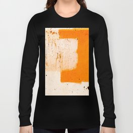 Stonewall in Pale Vermilion and Peach Long Sleeve T-shirt