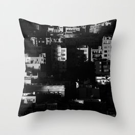 Chiaroscuro Morning Throw Pillow