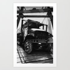 GMC Truck Part 1 Art Print