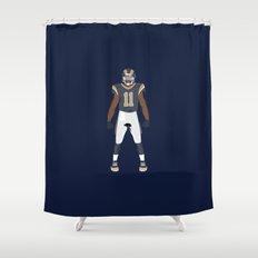 RAMpage - Tavon Austin Shower Curtain