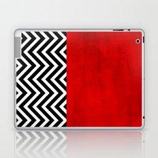 Fire, walk with me. Laptop & iPad Skin