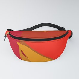 Red Confidence Fanny Pack