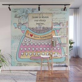 Typewriter #6 Wall Mural
