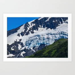 Whittier Glacier - 2 Art Print
