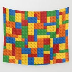 Lego bricks Wall Tapestry