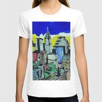 buildings T-shirts featuring buildings by Halley's Coma