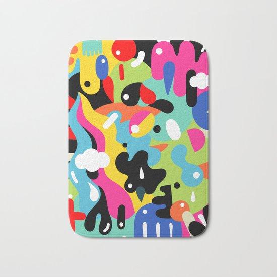 Color blobs Bath Mat