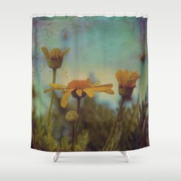 The beauty of simple things Shower Curtain