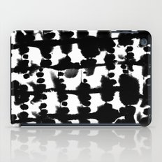 Parallel Black and White iPad Case