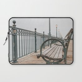 Sitting by the bay Laptop Sleeve