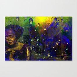 Earth has a Fever Canvas Print
