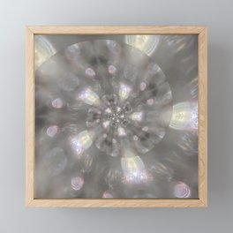 Light Speed - Abstract Photographic Art by Fluid Nature Framed Mini Art Print
