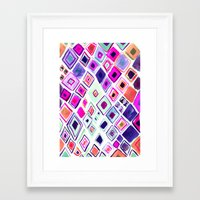 morocco Framed Art Prints featuring Morocco by Amy Sia