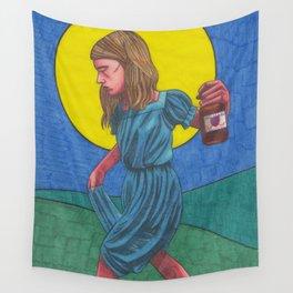 Honky Tonk Angel Wall Tapestry