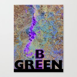 Be Green Canvas Print