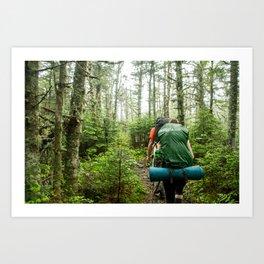 Thru Hike Art Print