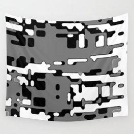 jitter, b&w 8 Wall Tapestry