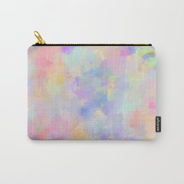 Secret Garden Colorful Abstract Impressionist Painting Carry-All Pouch