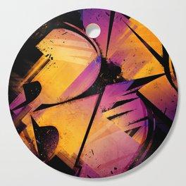B--Abstract Cutting Board