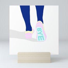 BYE Mini Art Print