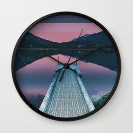 Colorscape VIII Wall Clock