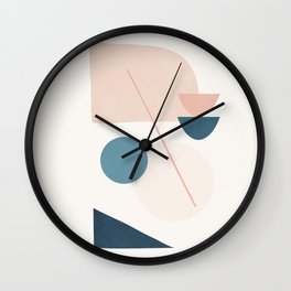 Abstract Minimal Shapes 32 Wall Clock