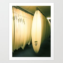 Surf Co Art Print