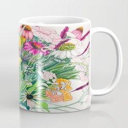 Flowers Burst Coffee Mug