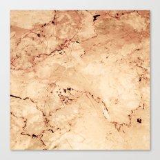 Rosado Marble Canvas Print