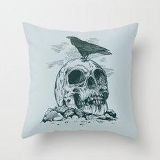 Raven's Cliff Throw Pillow