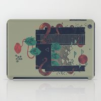 lovecraft iPad Cases featuring A World Within by Hector Mansilla