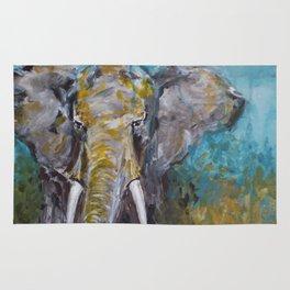 African Elephant Bull Rug