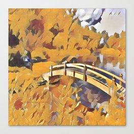 Dreamland Gold Canvas Print