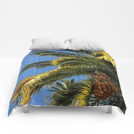 Palms Of France Comforters